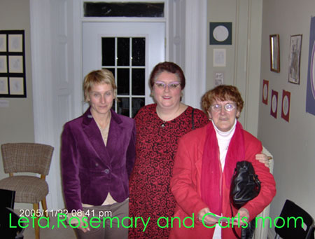 Leta, Rosemary and Mrs. Smith